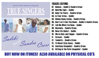 TRUE SINGERS: Sadiki meets Sandra Cross (UK)